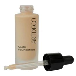 Artdeco Nude Foundation podkład 75 natural chiffon, 20 ml