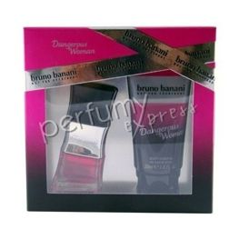 Bruno Banani Dangerous Woman komplet (20 ml EDT & 50 ml SG)
