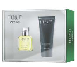 Calvin Klein Eternity for Men komplet (100 ml EDT & 100 ML SG)