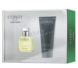 Calvin Klein Eternity for Men komplet (50 ml EDT & 100 ml HBW) PROMOCJA!