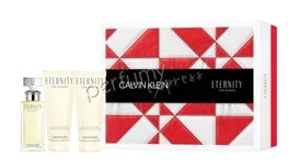Calvin Klein Eternity komplet  (50 ml EDP & 100 ml BL & 100 ml SG)