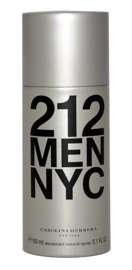 Carolina Herrera 212 Men dezodorant w spray 150 ml
