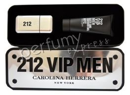 Carolina Herrera 212 VIP Men komplet (50 ml EDT & 100 ml SG)