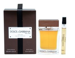 Dolce & Gabbana The One for Men komplet (100 ml EDT & 10 ml travel spray)