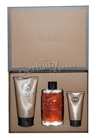 Gucci Guilty Absolute pour Homme komplet (90 ml EDP & 150 ml SG & 50 ml ASB)
