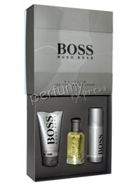 Hugo Boss BOSS Bottled komplet (100 ml EDT & 50 ml SG & 150 ml DEO Spray)
