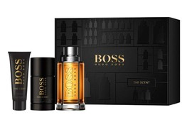 Hugo Boss The Scent komplet (100 ml EDT & 75 ml Deo Sztyft & 50 ml SG)