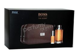 Hugo Boss The Scent komplet (100 ml EDT & 8 ml EDT MINI & kosmetyczka)