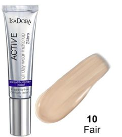 IsaDora Długotrwały Podkład Active 24h All day Make-UP nr 10 Fair 35 ml