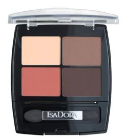 IsaDora Eye Shadow Quartet poczwórne cienie do powiek 14 Peach Avenue 5g