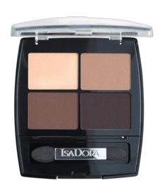 IsaDora Eye Shadow Quartet poczwórne cienie do powiek 15 Coffee&Cream 5g