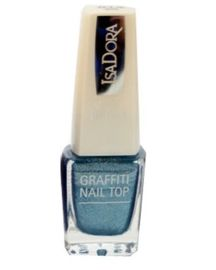 IsaDora Graffiti Nail Top 808 Blue Burner 6ml