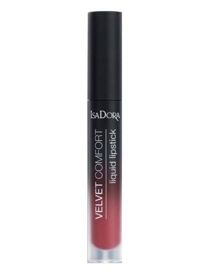 IsaDora Pomadka Velvet Comfort nr 62 Red Plum 4 ml