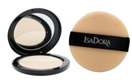 IsaDora Velvet Touch Compact Powder puder prasowany 10 Sheer Transparent 10g