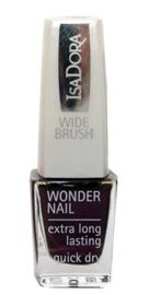 IsaDora Wonder Nail supertrwały lakier do paznokci 789 Purple Prune 6 ml