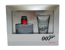 James Bond 007 Quantum komplet (30 ml EDT & 50 ml SG)