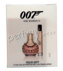 James Bond 007 for Woman II (30 ml EDP & 7,4 ml  EDP Roll-on)