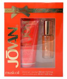 Jovan Musk Oil komplet (26 ml EDT& 200 ml SG)