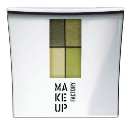 Make Up Factory Eye Colors Zestaw Cieni Quattro 23 Olive Garden 4,8g