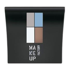 Make Up Factory Eye Colors Zestaw Cieni Quattro 580 Pastel Garden Party 4,8g
