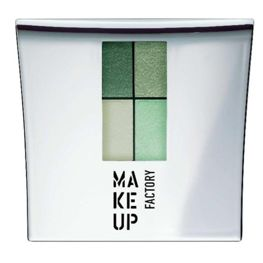 Make Up Factory Eye Colors Zestaw Cieni Quattro Cool Pistachio nr 28, 48g