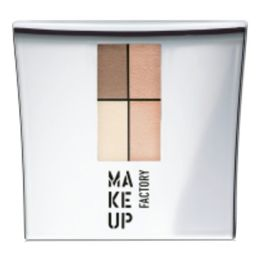 Make Up Factory Eye Colors Zestaw Cieni Quattro Nude Meets Apricot nr 92, 48g