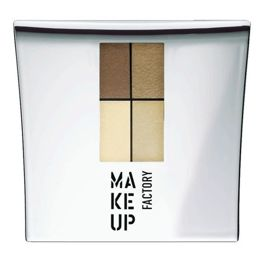 Make Up Factory Eye Colors Zestaw Cieni Quattro nr 21, 4,8g