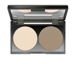 Make up Factory Duo Contouring Cream paleta do konturowania twarzy w kremie 08 Ash Tan 2 x 3 g