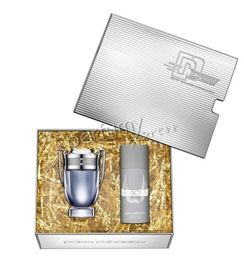 Paco Rabanne Invictus komplet (100 ml EDT & 150 ml Deo Spray)