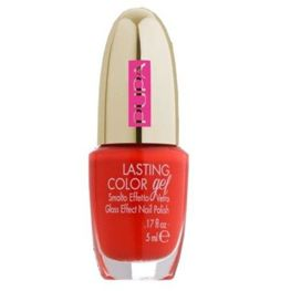 Pupa Lasting Color Gel lakier do paznokci 137 Fancy Coral 5 ml kolekcja Dot Shock