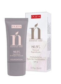 Pupa NATURAL SIDE FOUNDATION Podkład do twarzy nr 020, 30 ml.