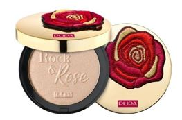 Pupa Rock&Rose Highlighter Rozświetlacz 001 Indecent Rose Gold
