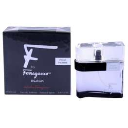 Salvatore Ferragamo F by Ferragamo Black Pour Homme woda toaletowa 100 ml