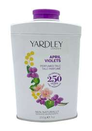 Yardley London April Violets Fiołek perfumowany talk do ciała 200 g