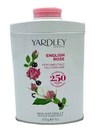 Yardley London English Rose Róża perfumowany talk do ciała 200 g