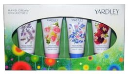 Yardley London Hand Cream Collection zestaw kremów do rąk 4x50 ml