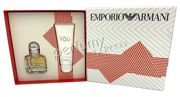 Giorgio Armani Emporio Because It's You komplet (30 ml EDP &75 ml BL)