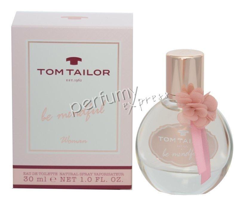 release info on san francisco buy popular Tom Tailor BE Mindful Woman 30 ml woda toaletowa