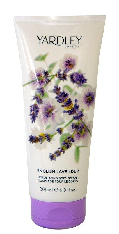 Yardley London English Lavender Lawenda złuszczający peeling do ciała 200 ml