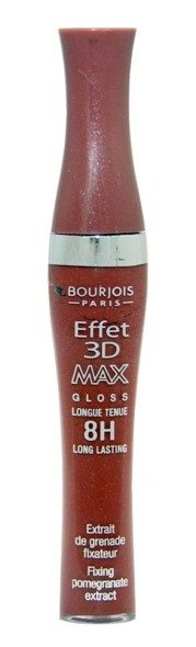 Bourjois Effet 3D MAX Gloss 8H błyszczyk do ust 6,5 ml, BRUN DELIGHT 12