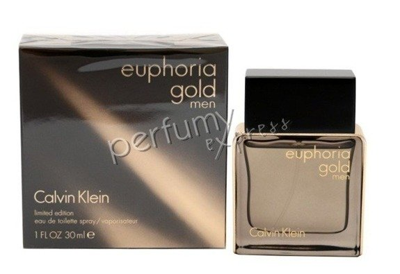 Calvin Klein Euphoria Gold Men woda toaletowa 30 ml