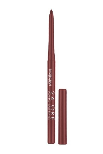 Deborah Kredka do ust 24ORE Long Lasting nr. 06 Brown