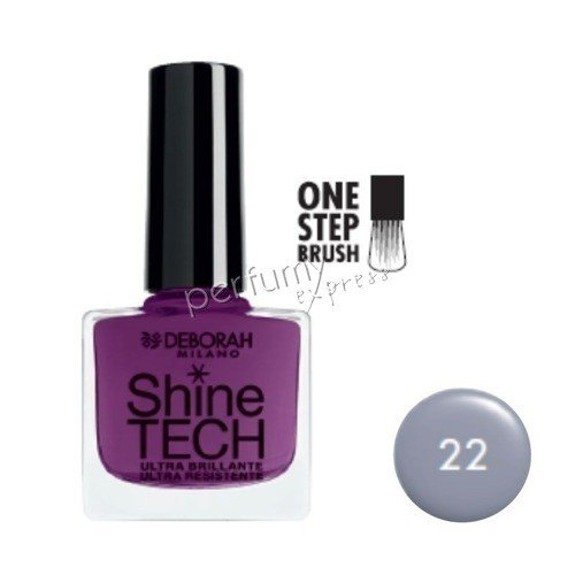 Deborah Lakier do paznokci Shine-Tech 8,5 ml, nr 22