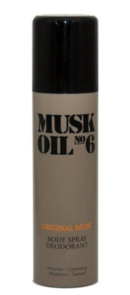 Gosh Musk Oil No.6 woda dezodorant spray 150 ml ml