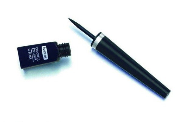 IsaDora Colorful Eyeliner w pędzelku 10 Black 4ml