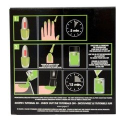 Pupa Nail Art Mania Crazy Crystals zestaw do manicure 006 Fluo Green