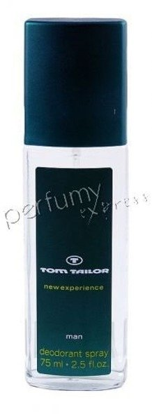 Tom Tailor New Experience Man dezodorant atomizer 75 ml